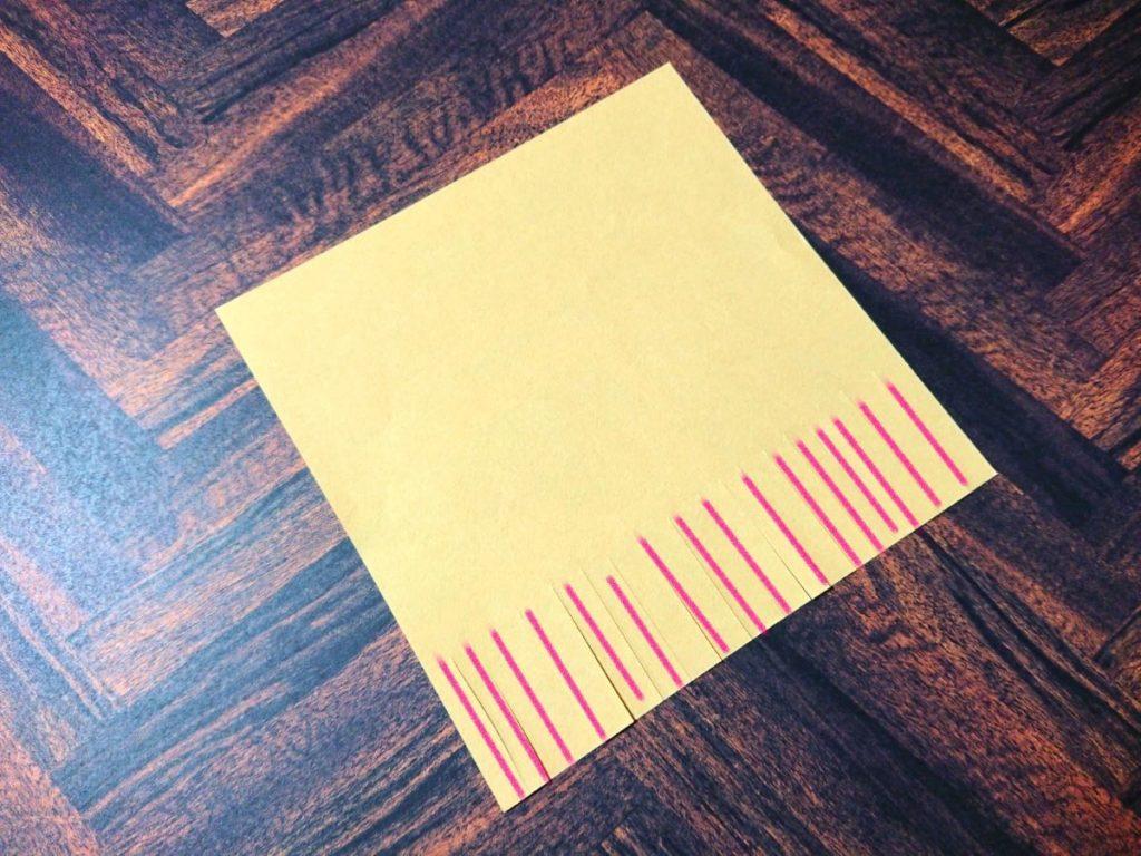 すすき折り紙