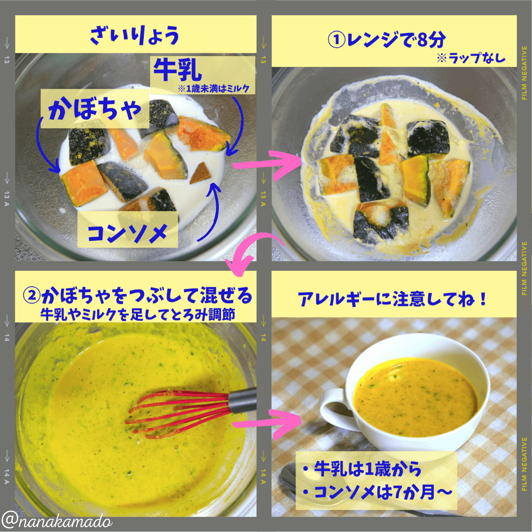 かんたんポタージュスープの作り方